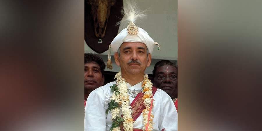 Puri Gajapati and Chairman of Sri Jagannath Temple Managing Committee Dibyasingha Deb