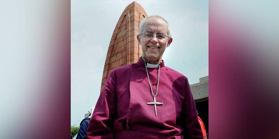 Archbishop of Canterbury Justin Welby during his visit to Jallianwala Bagh memorial in Amritsar