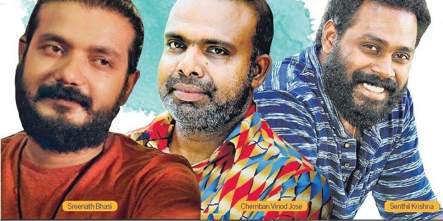 Shreenath Bhasi, Chemban vinod and Senthil Krishna