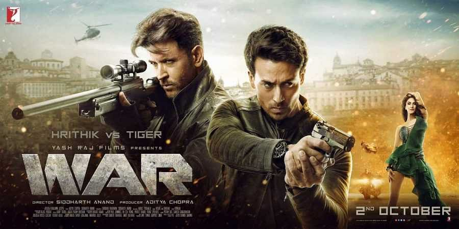The poster of War.