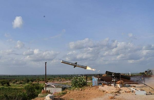 DRDO's flight-test of indigenously developed Man Portable Antitank Guided Missile successful