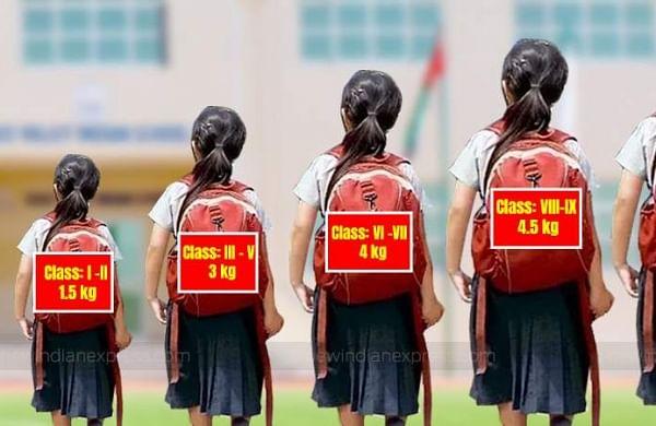 Delhi asks government schools to ensure bag weight criteria