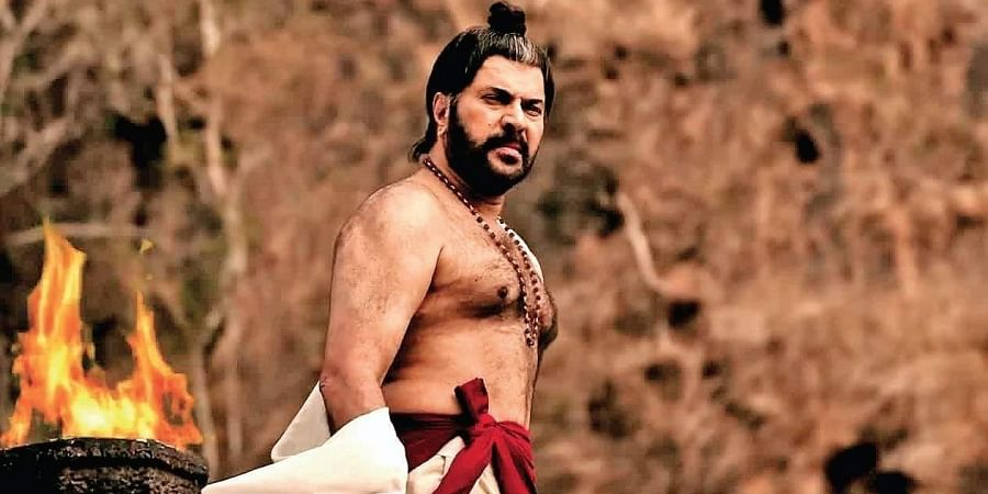 Mammootty in a still from 'Mamangam'