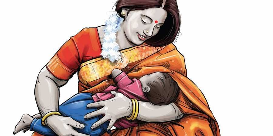 The court was hearing a public interest litigation (PIL) filed on behalf of a mother.