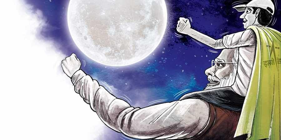 Modi converts minor Chandraya an setback into a Nationalist pride