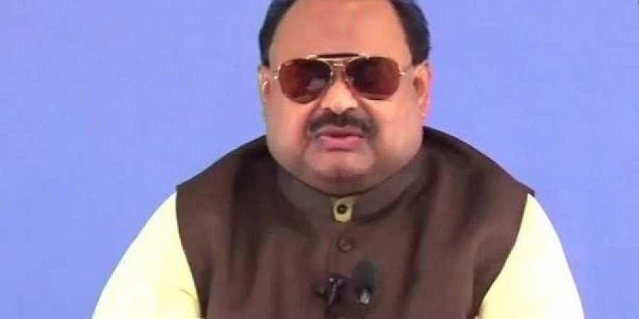 Founder of Pakistan political party Muttahida Qaumi Movement, Altaf Hussain.