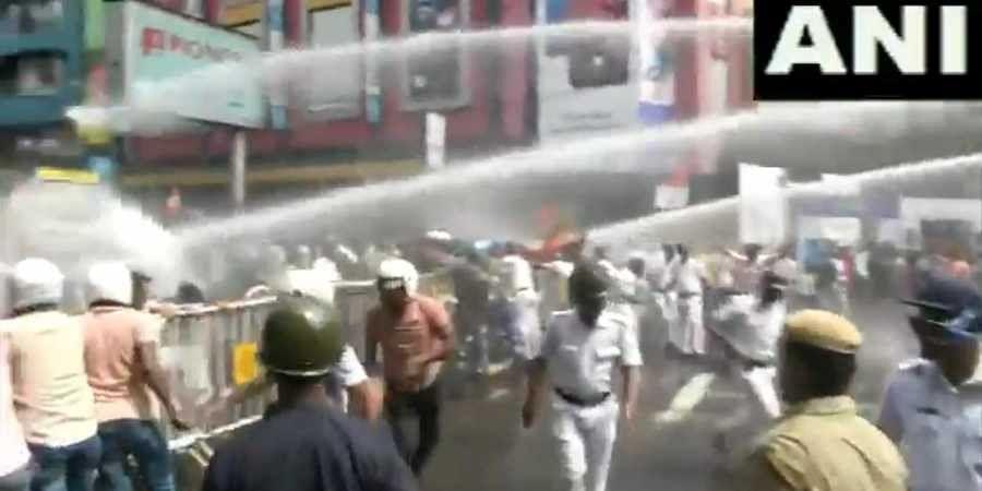 Kolkata power tariff protest
