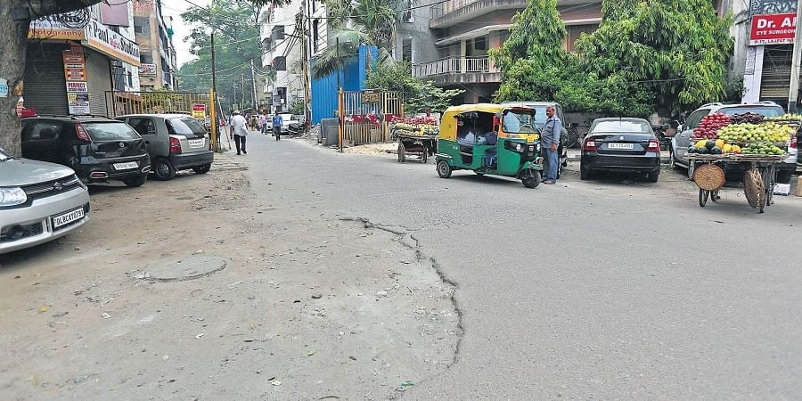 Potholes and a bumpy ride have become a routine for residents here.
