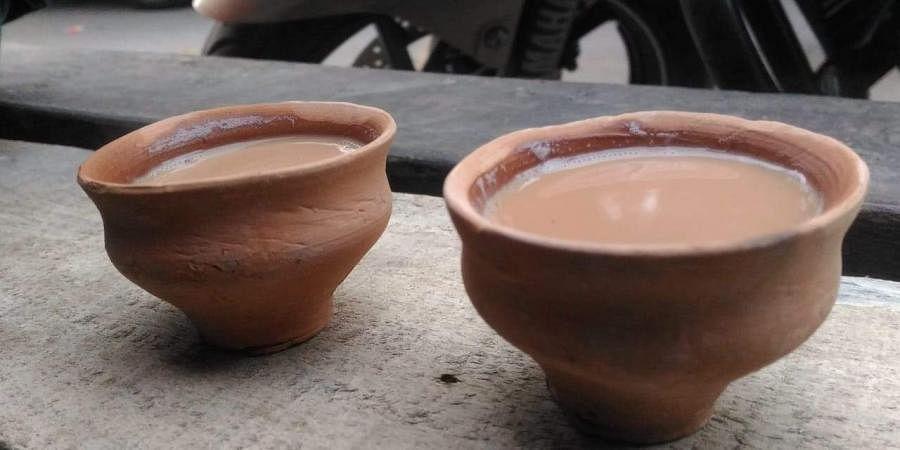 Kulhad, earthen cup,