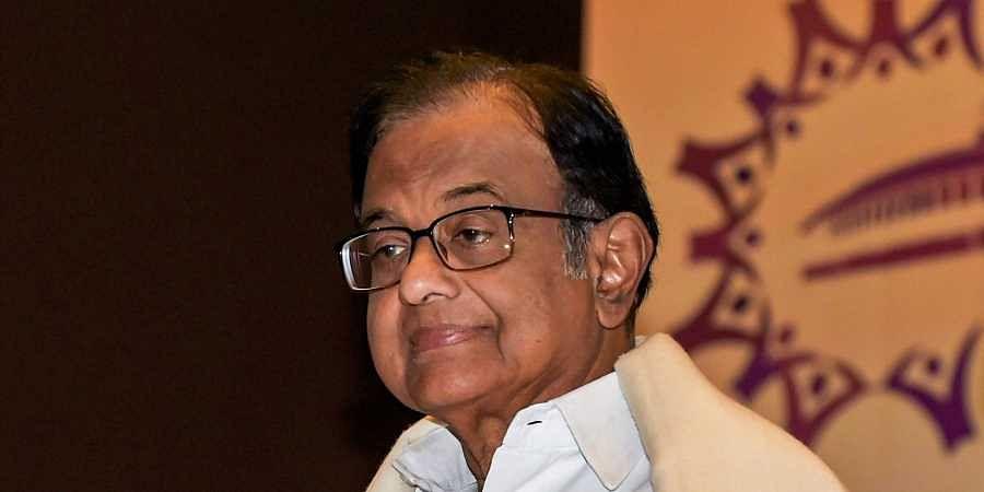 Senior Congress leader P. Chidambaram