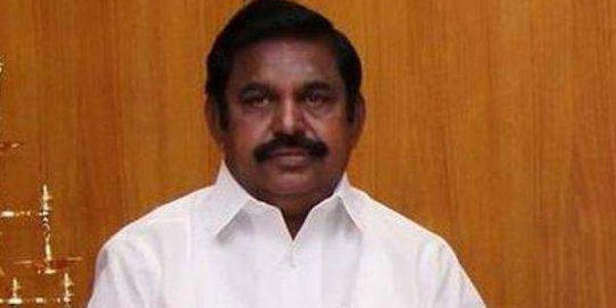 Tamil Nadu CM Edapaddi K Palanisamy