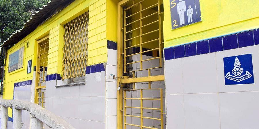 BBMP, public toilet