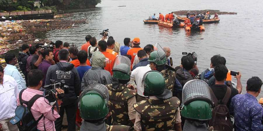 Bhopal tragedy: 11 men drown after overcrowded boat capsizes during Ganesha idol immersion in lower lake