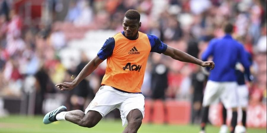 Manchester United's French midfielder Paul Pogba. (Photo | AFP)