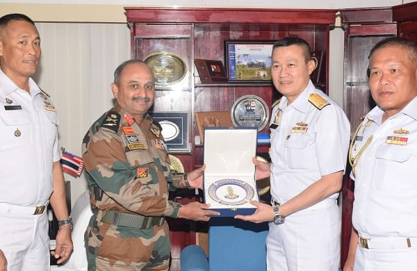 Indian Navy and Royal Thai Navy conducting final leg of 28th Coordinated Patrol Exercise