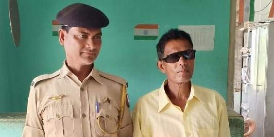 58-year-old Bachu Kaul who was re-arrested by the personnel of Budhjung Nagar Police Station on Friday evening from the Mekhlipara Tea Estate in West Tripura district.   (Photo   EPS)