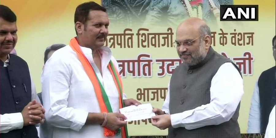 Udayanraje Bhosale said that the people of the country were joining the BJP because of the leadership in the party and its ideologies.