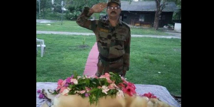 All the officials paid last respects to 'Dutch', who died on September 11.
