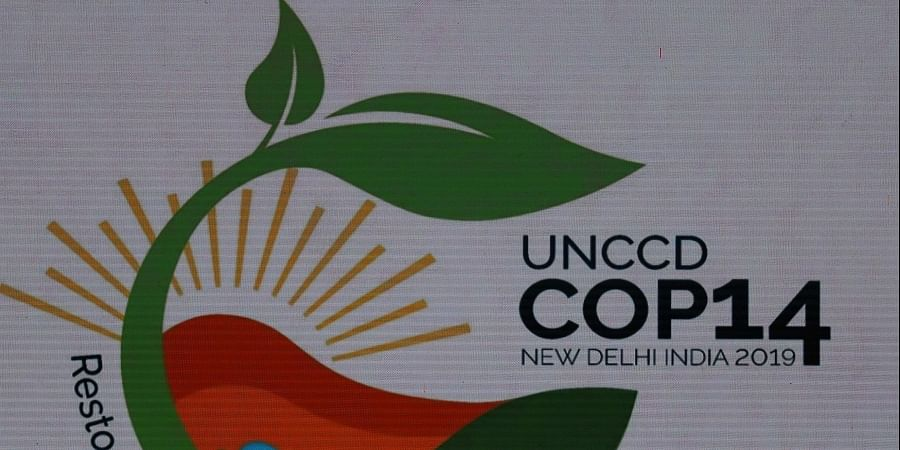 14th Session of the Conference of the Parties (COP14) to United Nations Convention to Combat Desertification in Greater Noida, India.
