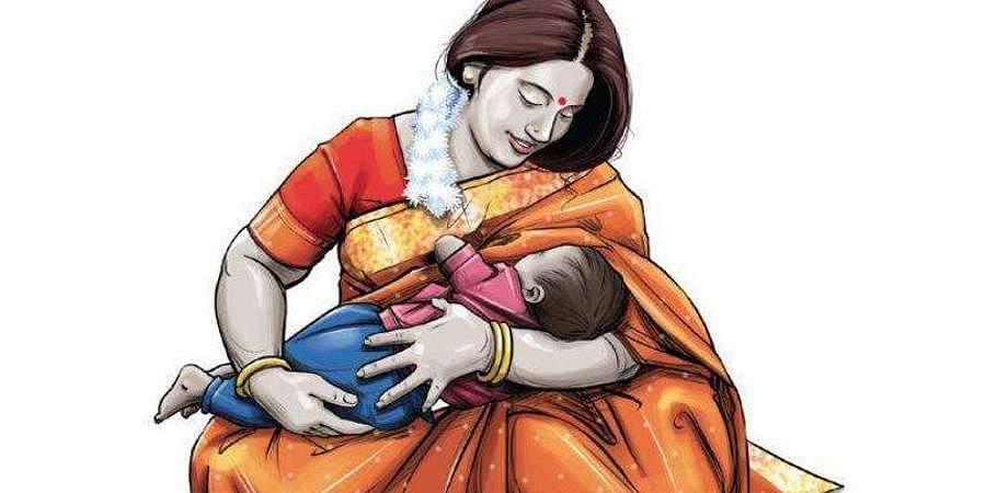 breast feeding, mother