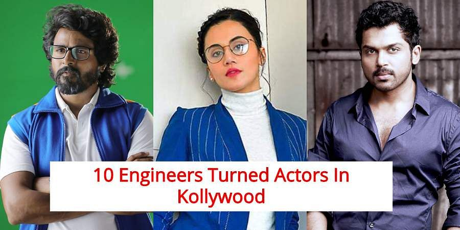 On the occasion of Engineers Day, let us take a look at list of Kollywood actors who completed their bachelors in engineering.