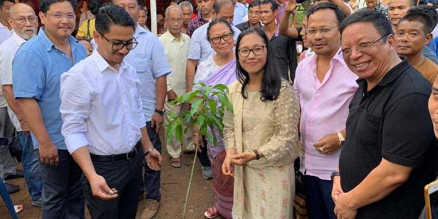 Meghalaya CM sister engagement