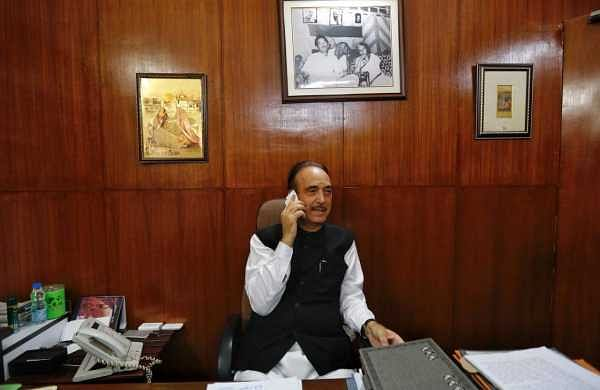 Want to reach out to common people in J&K, will submit report to SC: Gulam Nabi Azad