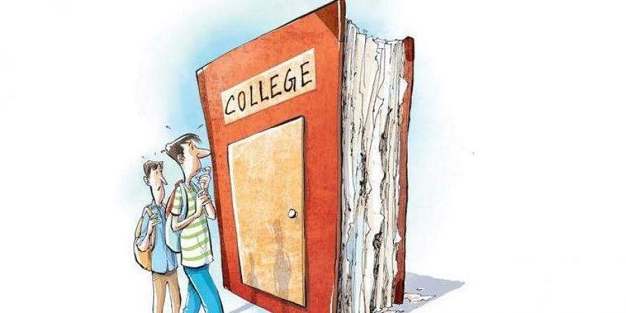 College, Exams, Books, Classes