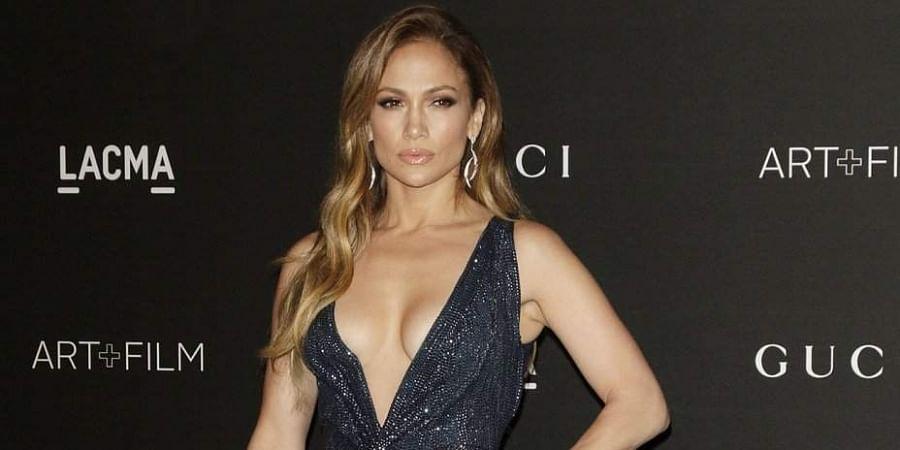 Singer-actress Jennifer Lopez