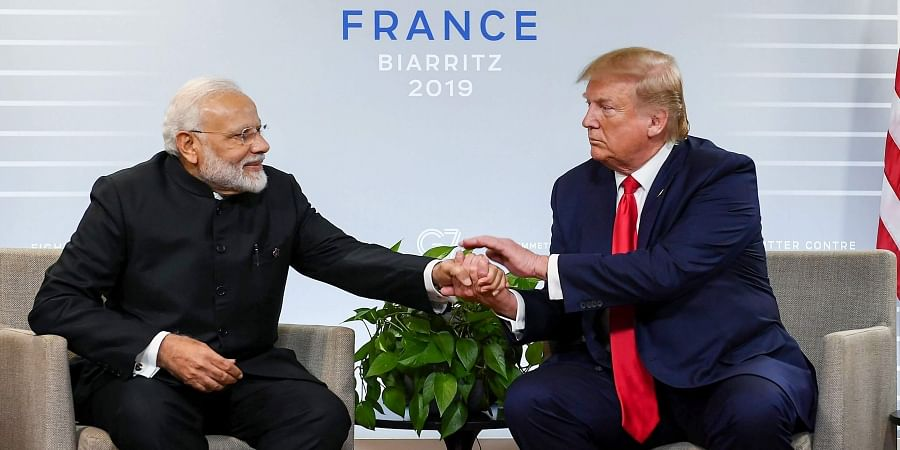 Prime Minister Narendra Modi with US President Donald Trump during a bilateral meeting in the sidelines of G-7 summit in Biarritz France Monday August 26 2019. | (File | PTI)