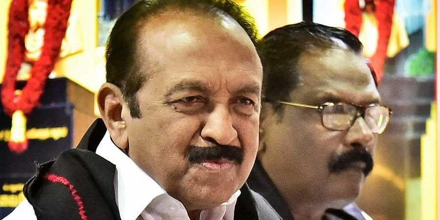 Rajya Sabha MP Vaiko