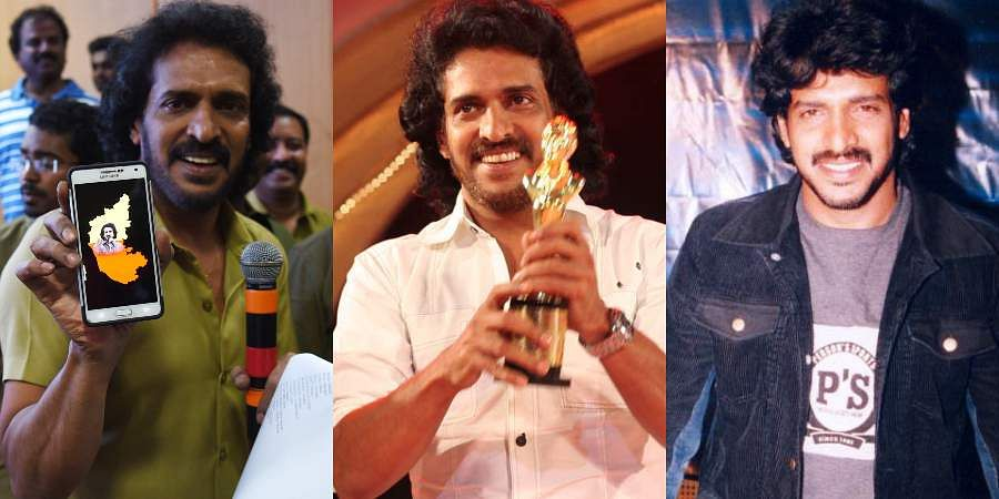 As Kannada actor Upendra turns a year older, let us take a look at some of the rare photos of the 'Uppi' star.