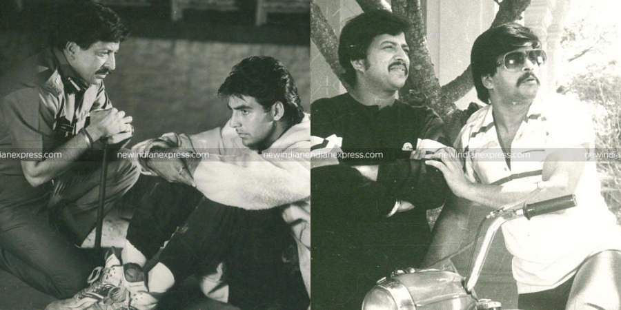 On thebirth anniversary of DrVishnuvardhan, let us take a look at some of the rare stills of 'The Phoenix Of Indian Cinema' from film sets.