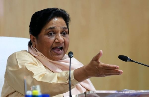 Communal forces getting stronger due to Congress' double standards: Mayawati