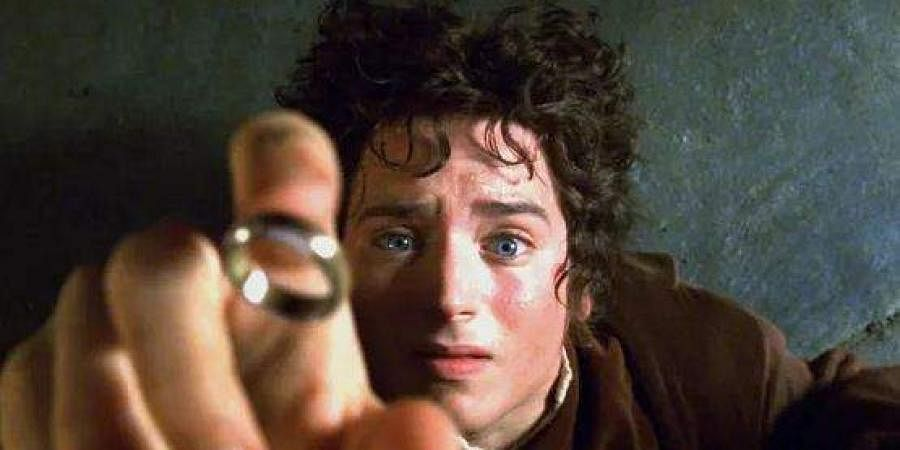A still from the movie series 'Lord of the rings'.