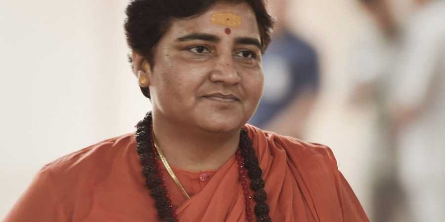 Bhopal BJP MP  Pragya Singh Thakur. (Photo | PTI)