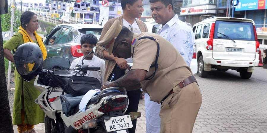 kerala traffic police