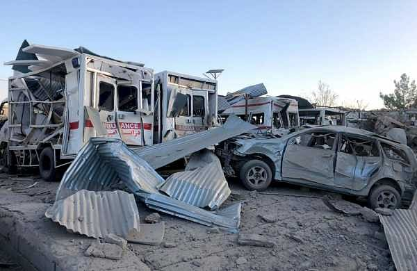 20 killed in suicide bomb attack in southern Afghanistan