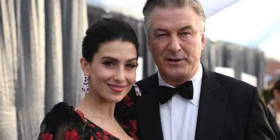 Actor Alec Baldwin and his wife Hilaria
