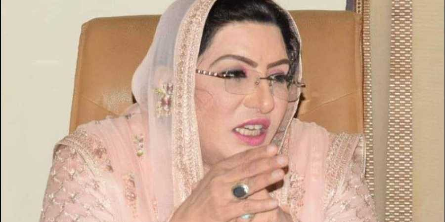 Special Assistant to the Prime Minister on Information, Firdous Ashiq Awan