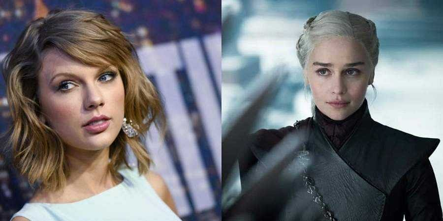 Taylor Swift and Emilia Clarke