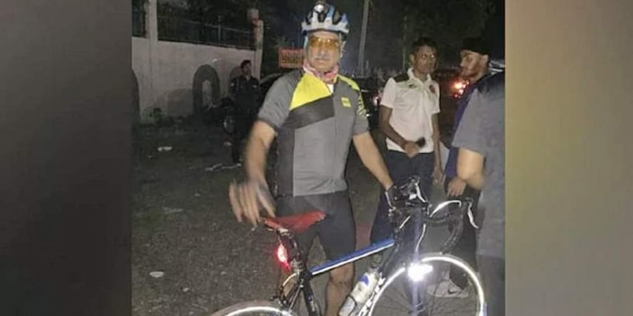 Army commander Alok Singh Kler cycles from Delhi to Jaipur to take charge