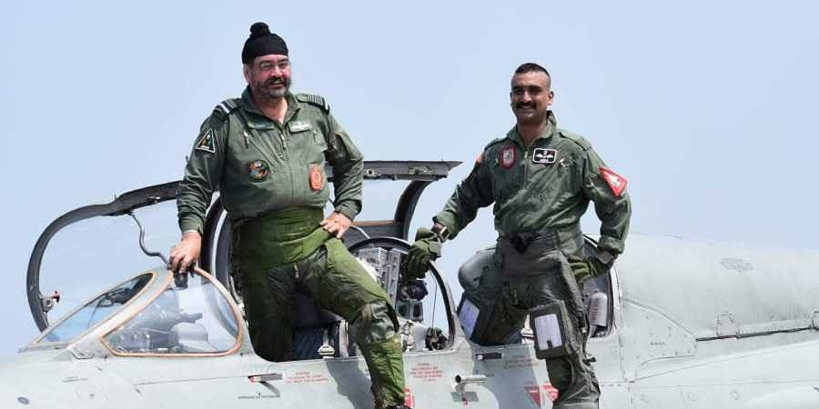 Wing Commander Abhinandan does MiG 21 sortie with Air Chief Dhanoa