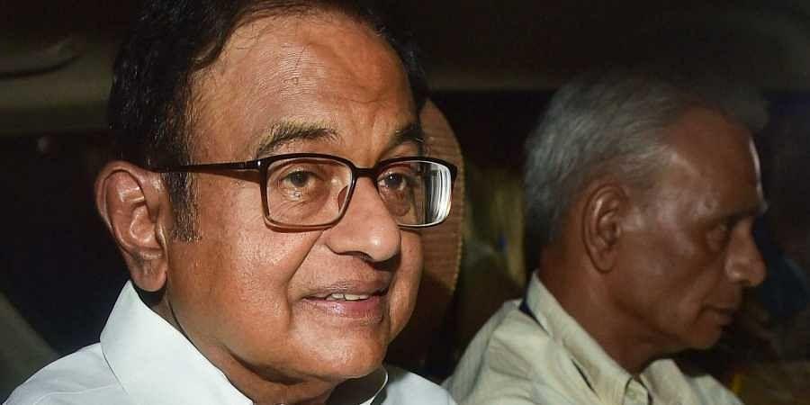 Former Finance MinisterP Chidambaram