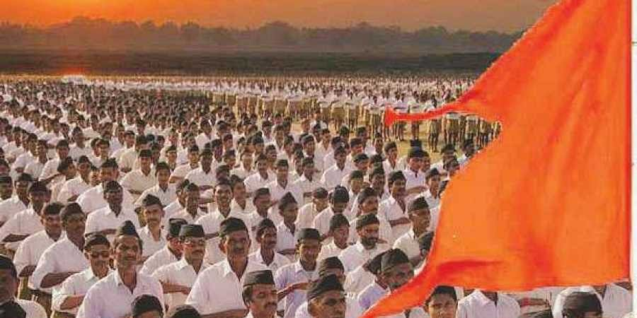 File Photo of RSS Swayamsevaks