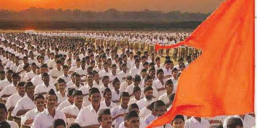 File Photo of RSS Swayamsevaks