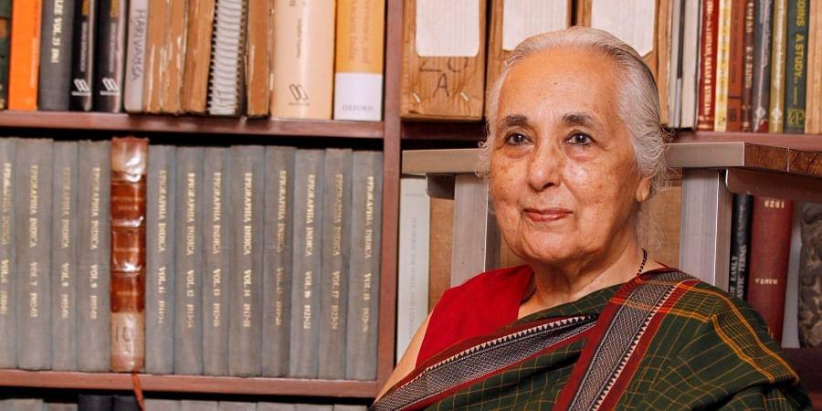Notable historian Romila Thapar