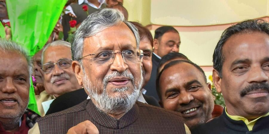 Bihar FM Sushil Kumar Modi