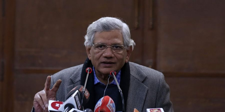 CPI(M) general secretary Sitaram Yechury. | (File | EPS)
