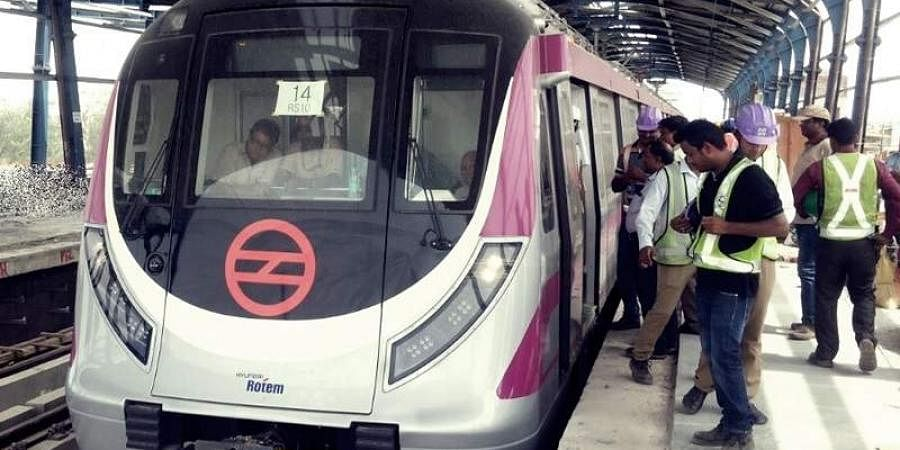 Woman jumps in front of Delhi Metro train, dies- The New